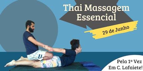 Workshop - Thai Massagem Essencial ingressos