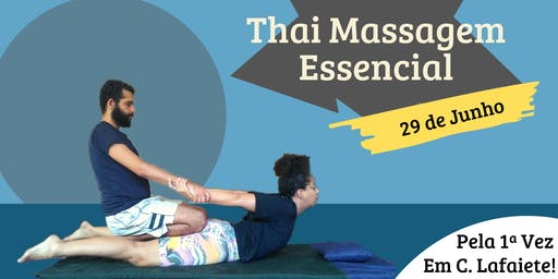 Workshop - Thai Massagem Essencial