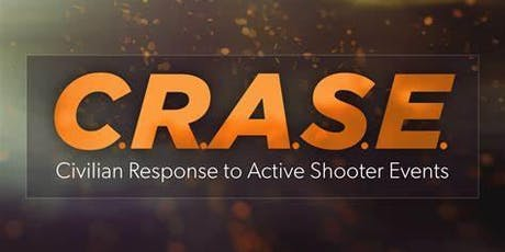 Civilain Response to Active Shooter Events (CRASE) tickets