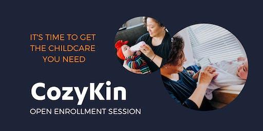 CozyKin Boston Open Enrollment Session - South Station