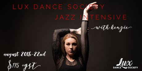 Lux Jazz Intensive tickets