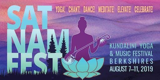 Sat Nam Fest Berkshires, August 7-11, 2019