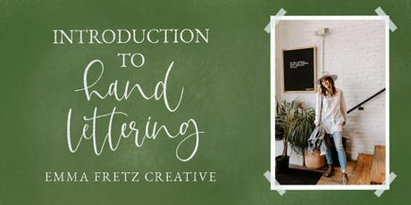 Coffee & Calligraphy- Introduction to Hand Lettering tickets