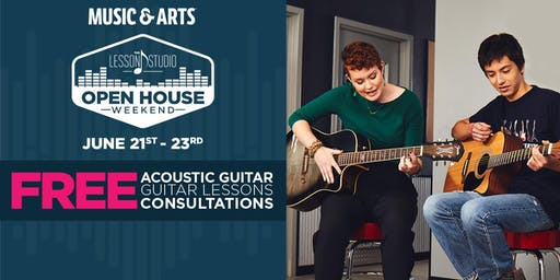 Lesson Open House   FREE Lessons & Guitar With Sign UP