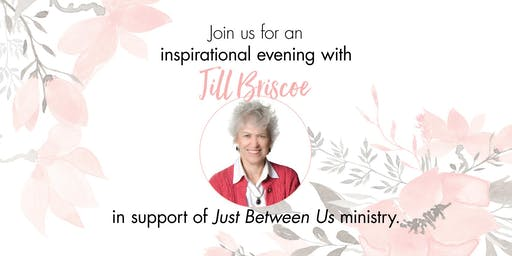 An Inspirational Evening with Jill Briscoe in Support of Just Between Us