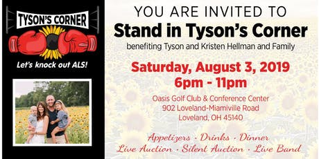 Stand in Tyson's Corner Benefit tickets