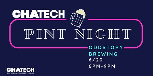 ChaTech Pint Night at Odd Story Brewing