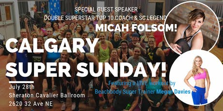 Calgary Super Weekend with Micah Folsom tickets