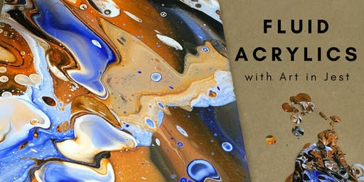 Level One: Fluid Acrylic Pouring