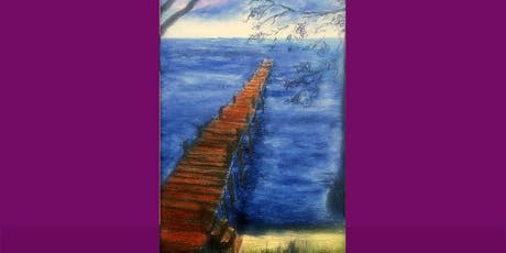 """Pier at Green Cove"" Acrylic Painting Class $38 NEW! 6/26 tickets"