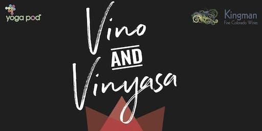Vino and Vinyasa Class