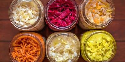 Hands-On Fermentation Class: A 3-Part Series on GUT HEALTH (Part 2)