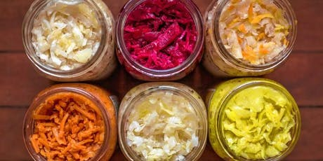 Hands-On Fermentation Class: A 3-Part Series on GUT HEALTH (Part 2) tickets
