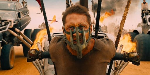 Mad Max: Fury Road + Fireworks