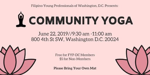 FYP-DC Community Yoga