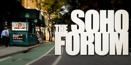 Soho Forum VIP Package: Full Season, June 2019 - December 2019 tickets