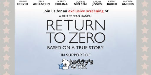 Return to Zero - Exclusive Charity Screening in support of Teddy's Wish