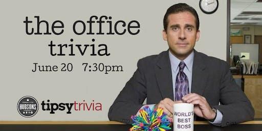 The Office Trivia - June 20, 7:30pm - Hudsons Lethbridge