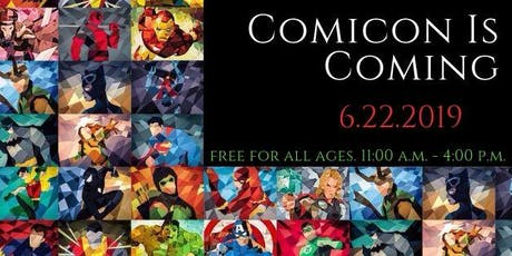 Southington Library ComiCon tickets