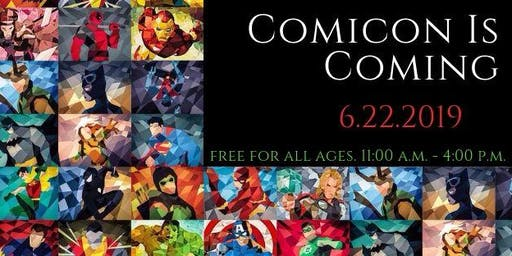 Southington Library ComiCon