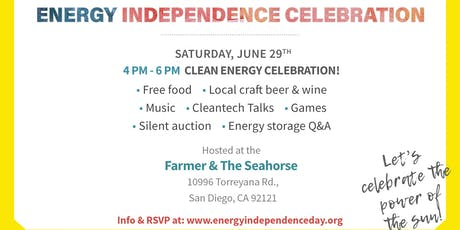 Energy Independence Day Celebration tickets