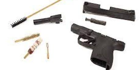 How to Clean your Handgun tickets