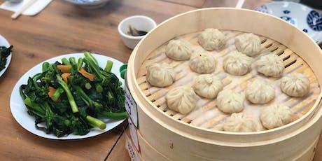 Cooking Class - Steam Your Own Xiao Long Bao (Vegetarian) tickets