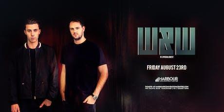 W&W tickets