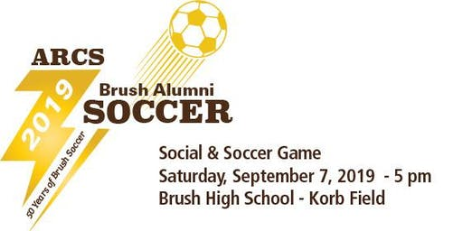 Brush HS Alumni Soccer Game & Social