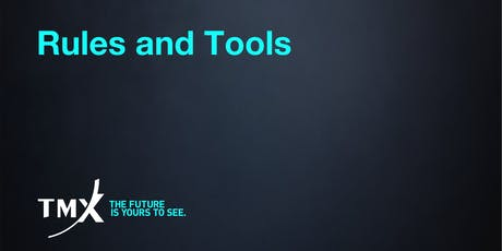 Rules and Tools - Toronto tickets
