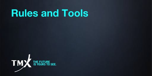 Rules and Tools - Toronto