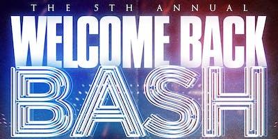 WELCOME BACK BASH FALL 2K19
