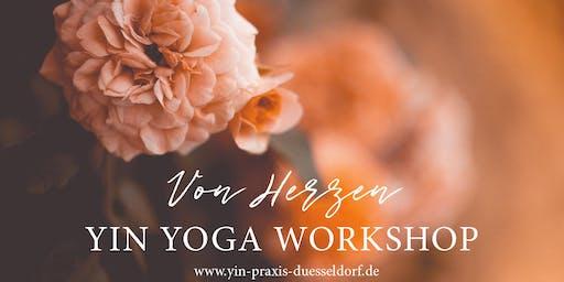 YIN YOGA WORKSHOP - Von Herzen