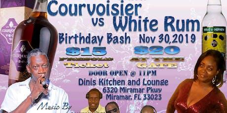 Courvoisier vs White Rum tickets