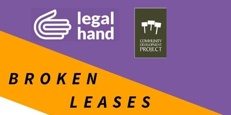 Broken Leases Workshop - Legal Hand Crown Heights tickets
