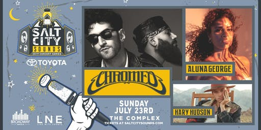 CHROMEO at Salt City Sounds Concert Series 2019