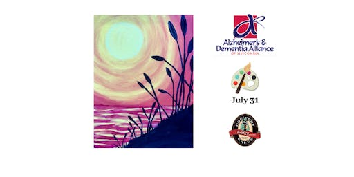 Paint Night Fundraiser for Alzheimer & Dementia Alliance