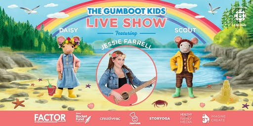 1:30pm Vancouver - Gumboot Kids' Live Show with Jessie Farrell