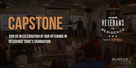MPLS Capstone! WeWork Veterans in Residence Powered by Bunker Labs tickets