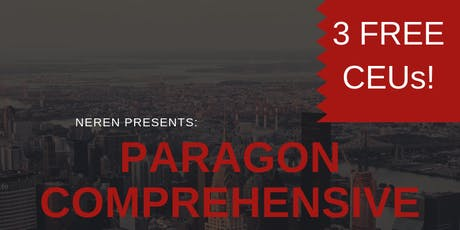 3 FREE CEUs: Paragon Comprehensive w/NEREN tickets