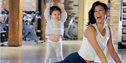 Mom & Baby Yoga LULULEMON X CF SHERWAY GARDENS X FIT MAMA TRAINING