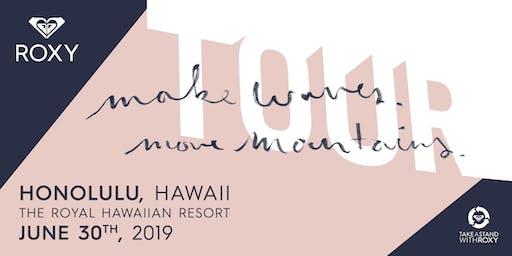 Make Waves Move Mountains Tour - Hawaii