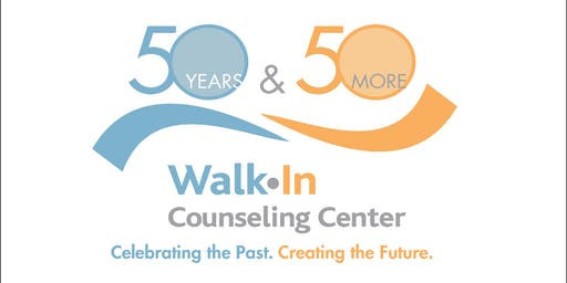 Notify Me When Tickets Go on Sale for the '50 Years and 50 More' Walk-In Counseling Center Gala