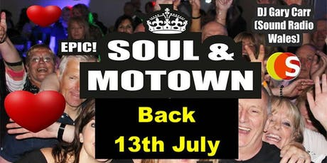 Epic Soul & Motown with Gary Carr 13th July tickets