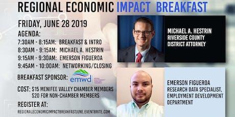Regional Economic Impact Breakfast  tickets
