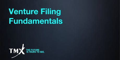 Venture Filing Fundamentals - Vancouver tickets