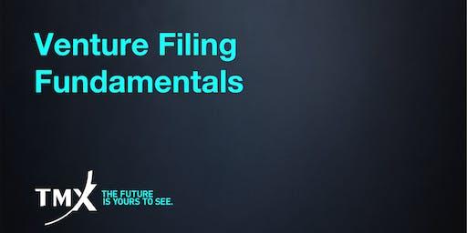 Venture Filing Fundamentals - Vancouver