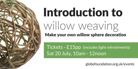 Introduction to willow weaving tickets