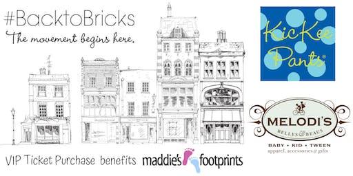 Kickee Pants Back to Bricks Movement Meet & Greet at Melodi's