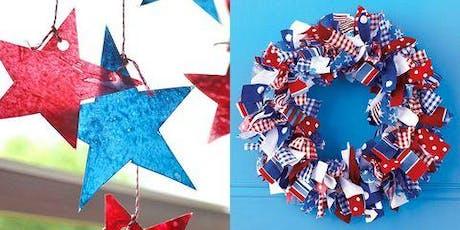 Patriotic Wreath tickets
